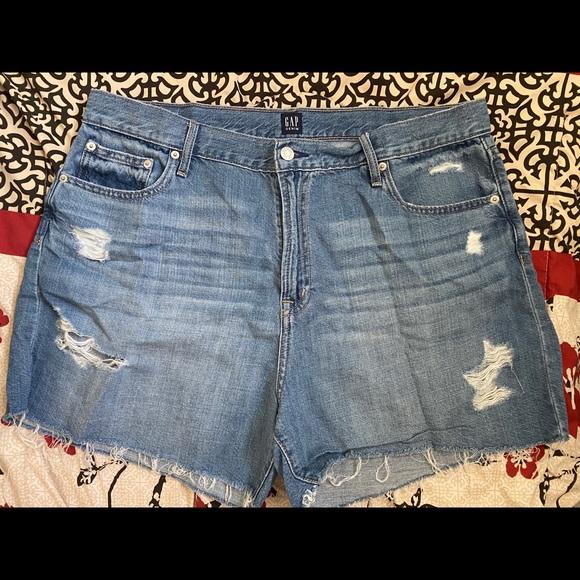 GAP High Waisted Jean Shorts